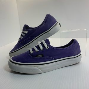 Vans (purple) Low Top Sneakers (Sz 5.5)
